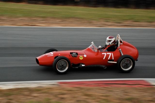 #771 Danny Yanda, 1958 Elva Formula Jr.