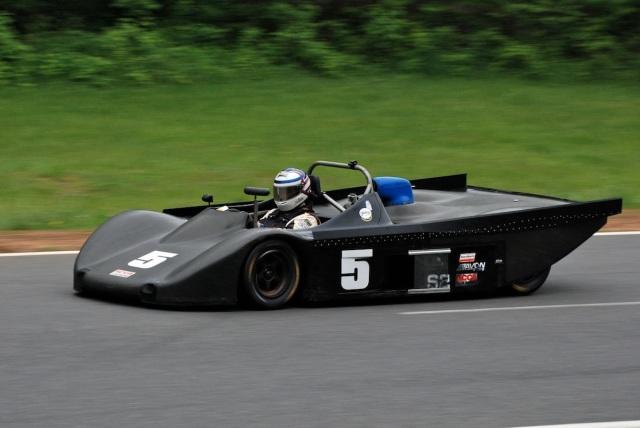 Ben Sinnott (#5) 1991 Lola T90/91.