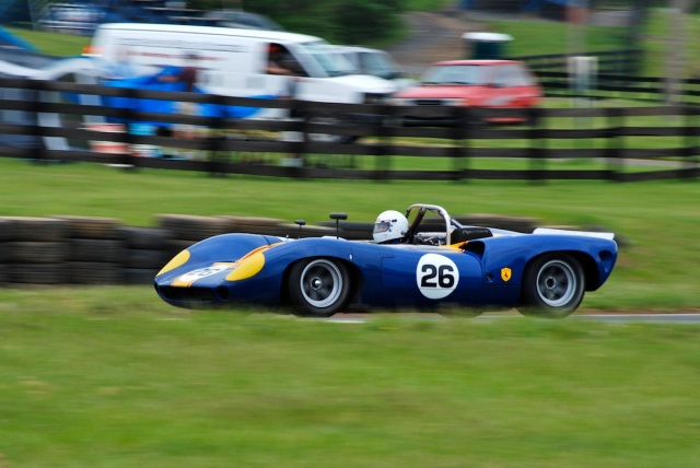 Paul Wilson (#26) 1965 Lola T70.