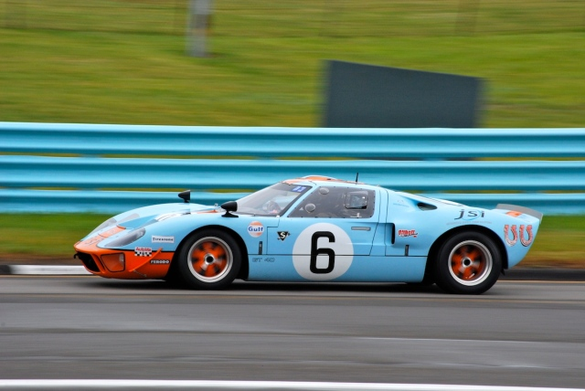 James Cullen (#6) 1968 Ford GT40 MK1.