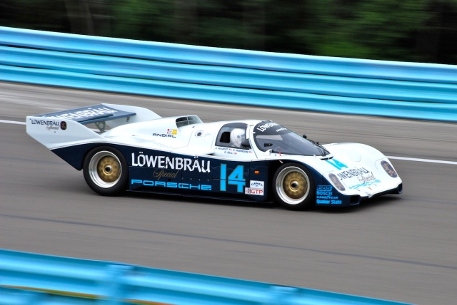 Dan Curry (#14) 1985 Porsche 962.