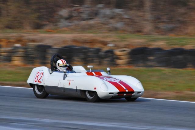 #82 Michael Oritt, 1958 Elva MK IV SR.