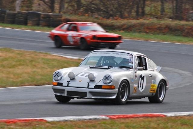 #177 Derek Sweger, 1973 Porsche 911 RS.