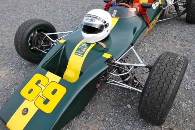 #69 Christian Morici, 1971 Lotus 69.