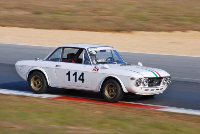 #114 Sergio Cecconi, 1966 Lancia Fulvia Coupe.