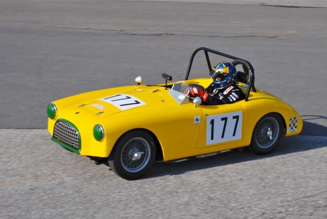 #177 Todd Wetzel, 1964 MG MGB.