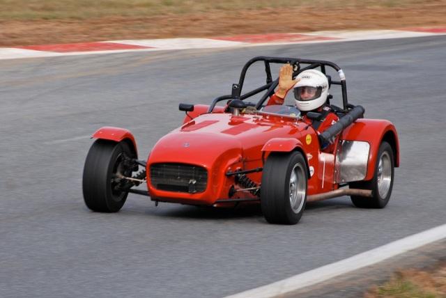 #7 Todd Reid, 1967 Lotus Super Seven. Group 3.