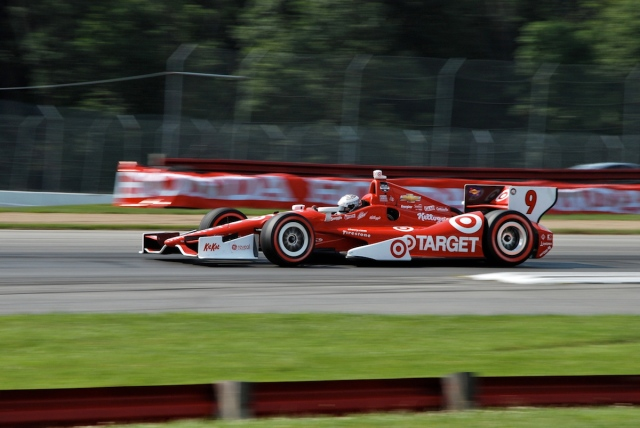 From last to first. Mr. Mid-Ohio! Scott Dixon.
