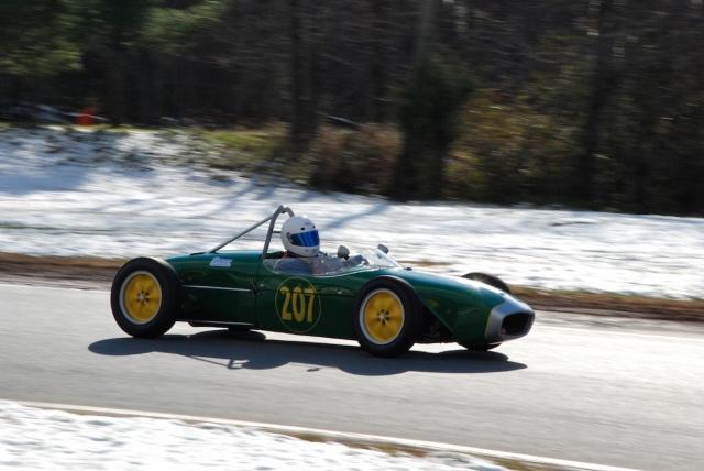 Group 1 - Peter Patterson, 1959 Lotus 18 fj (#207).