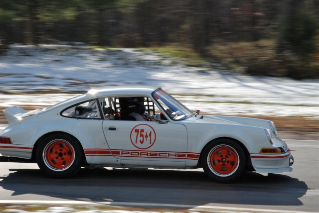 Group 3 - Jim Scott, 1973 Porsche 911 (#75+1).