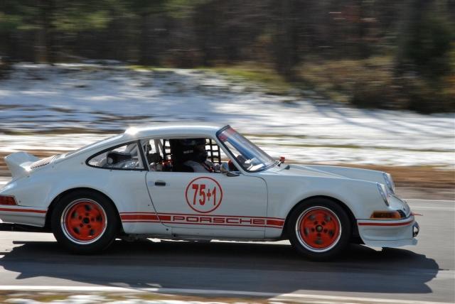 Group 3 - Jim Scott, 1973 Porsche 911 (#75+1).