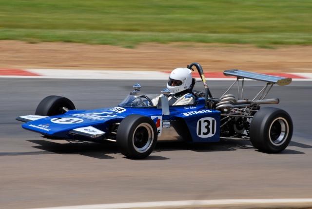 #131 Earl Roberts, 1972 GRD Formula 3.