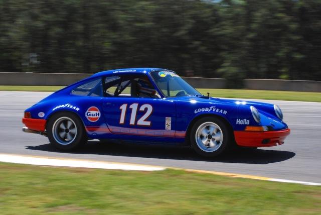 Lee Giannone (#112), 1966 Porsche 911.